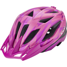 KED Street Jr. Pro Kask rowerowy Dzieci, violet